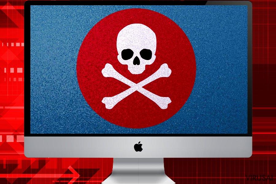 Mac kompiuterinė infekcija