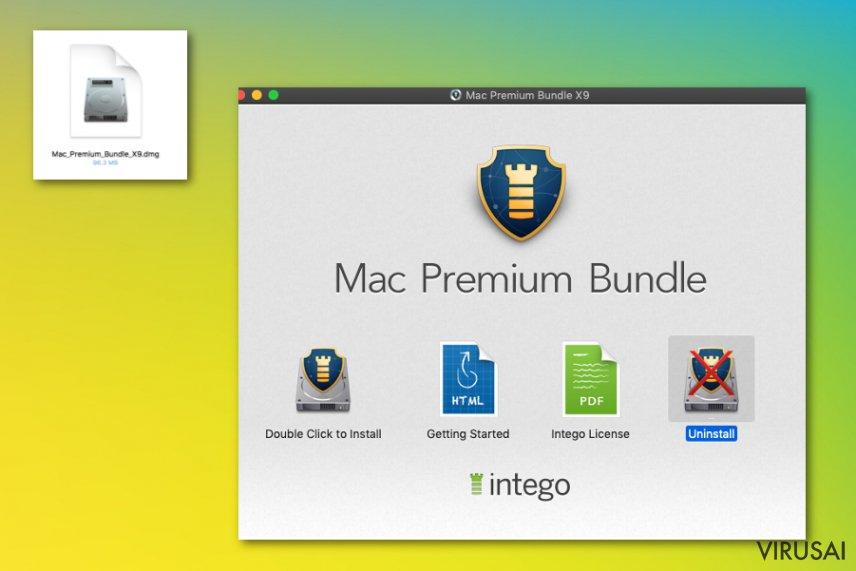 Mac Premium paketas su Intego produkcija