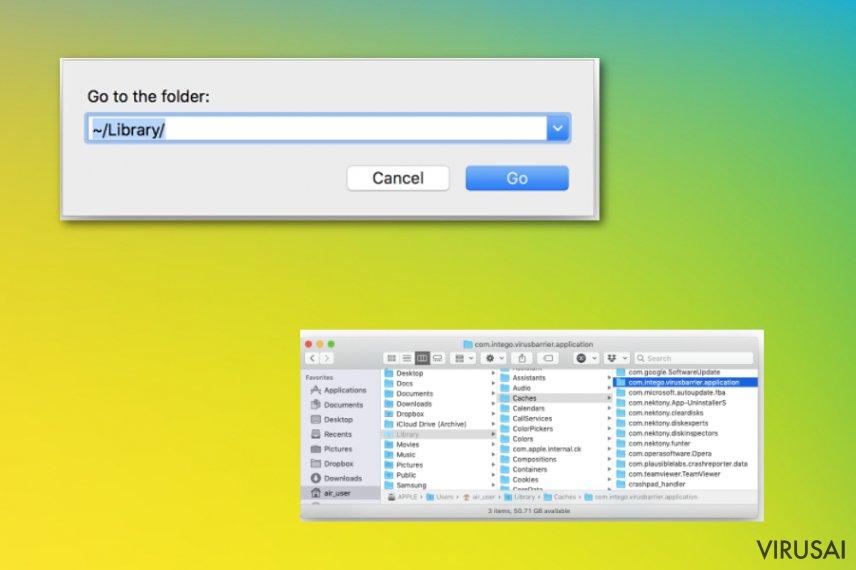 Papildomų failų ir aplikacijų šalinimas