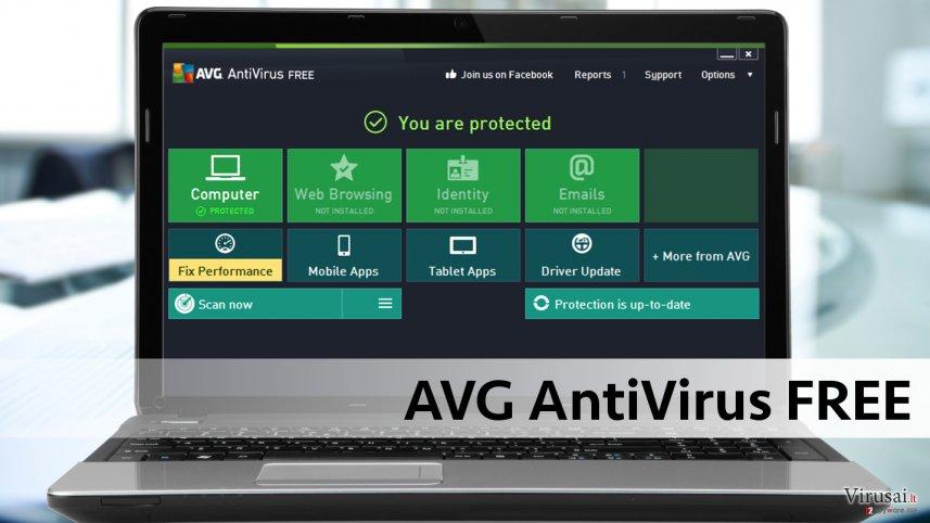 AVG nemokama antivirusinė