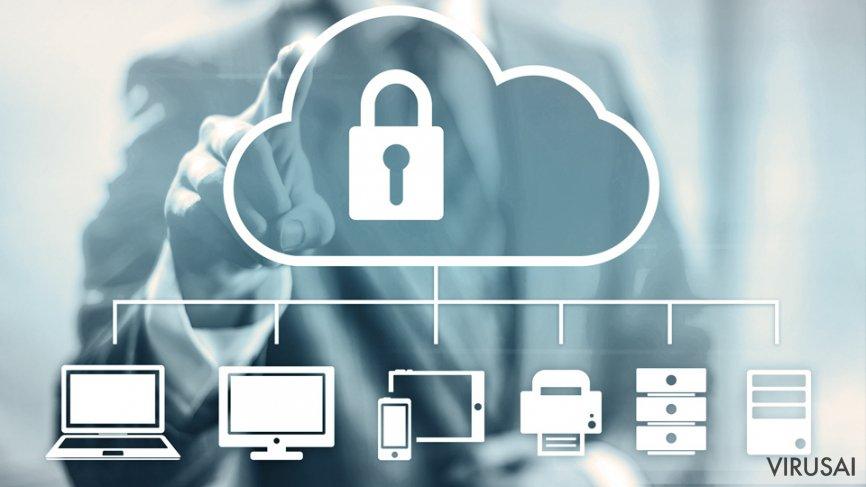 Duomenų saugojimas Debesyse