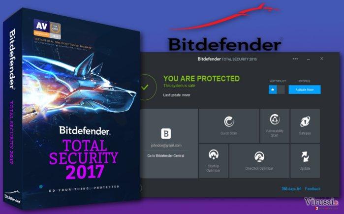 Bitdefender Total Security 2017 programa
