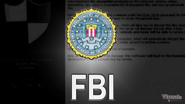 FBI announcement about ransomware