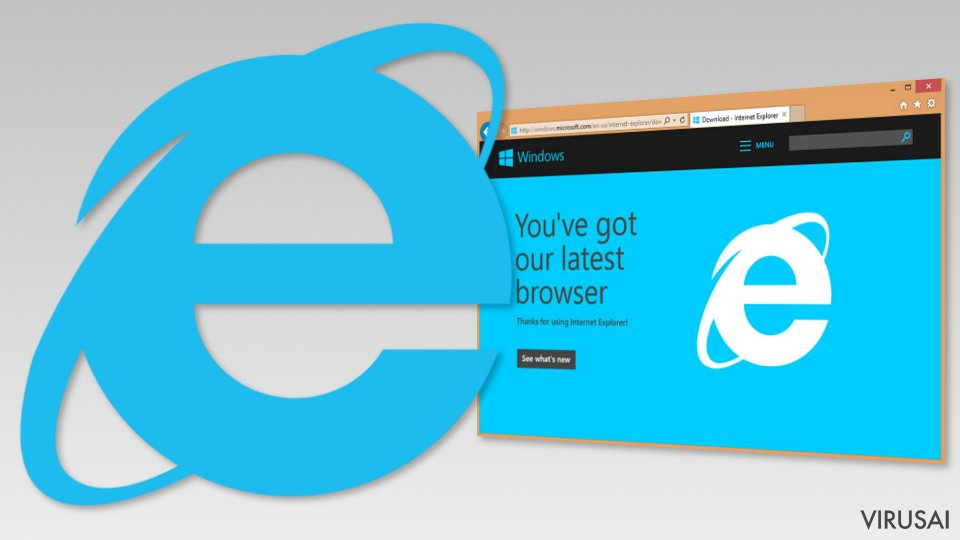 Internet Explorer nuotrauka