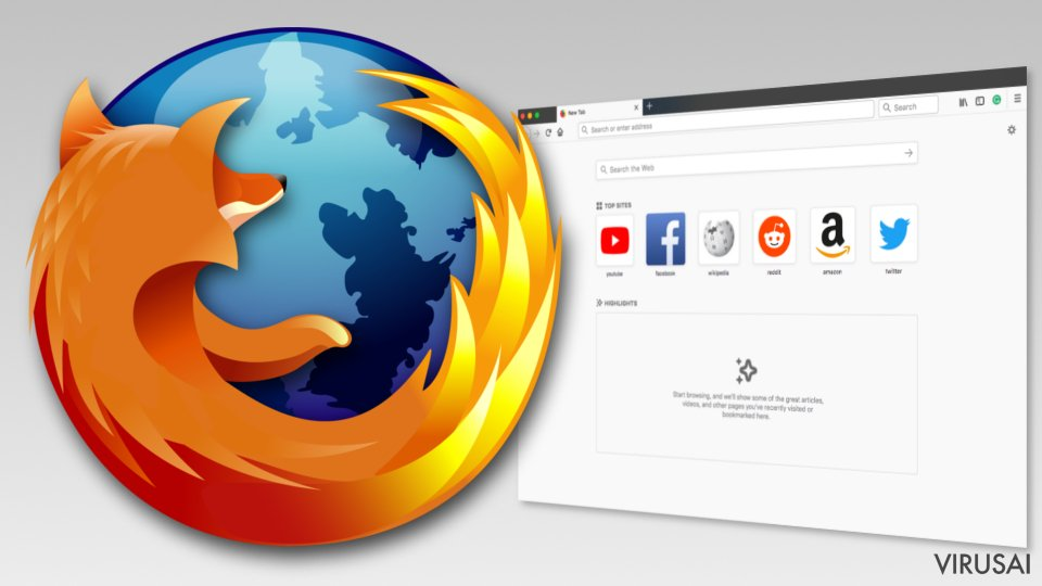 Mozilla Firefox nuotrauka