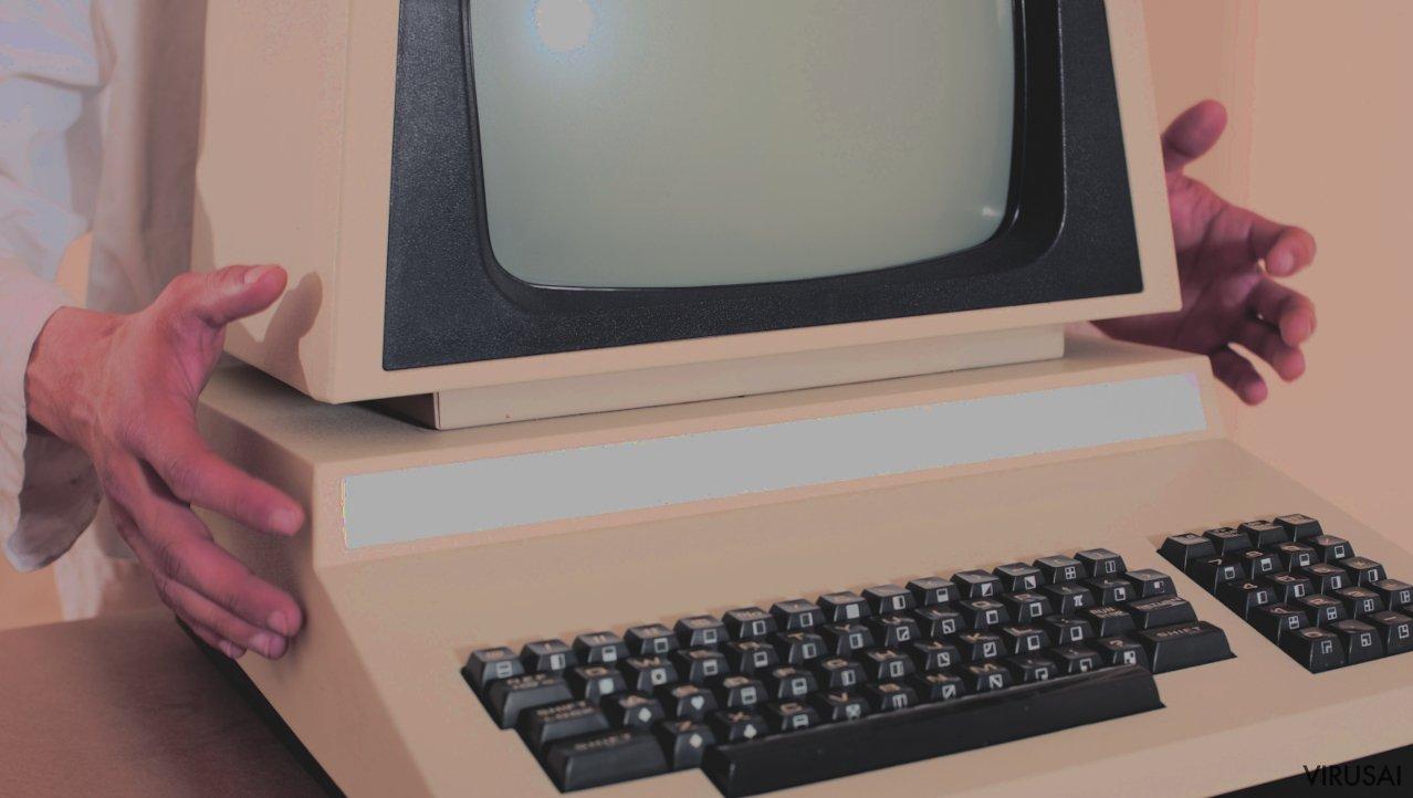 Pirmieji kompiuteriai buvo paprastesni