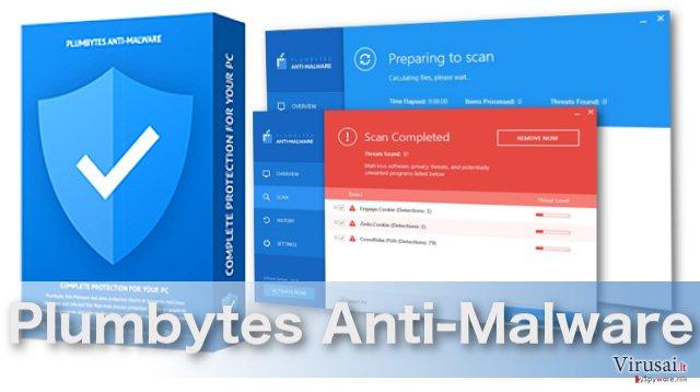 Plumbytes Anti-Malware virusus šalinanti programa