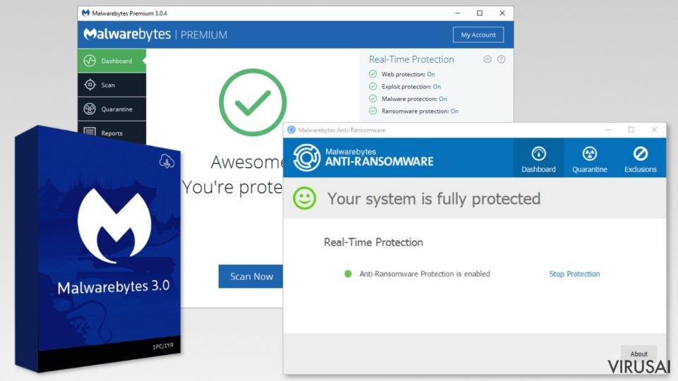 Malwarebytes Premium nuotrauka