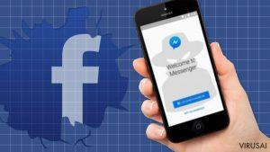 """Nauja """"Facebook"""" viruso ataka: saugokitės kenkėjiškų nuorodų, plintančių per """"Messenger"""""""