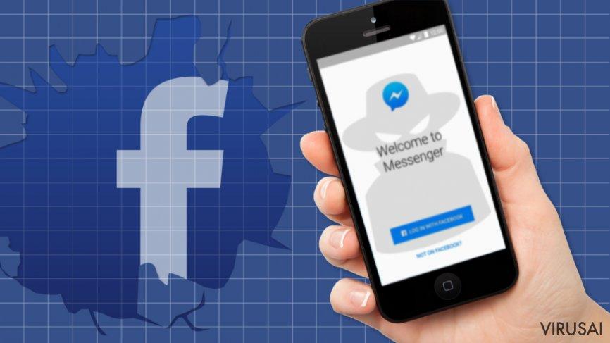 Facebook Message virusas vėl atakuoja socialinio tinklo vartotojus