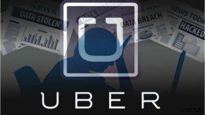 """""""Uber"""" nuslėpė vartotojų ir vairuotojų duomenų pagrobimo atevjį"""