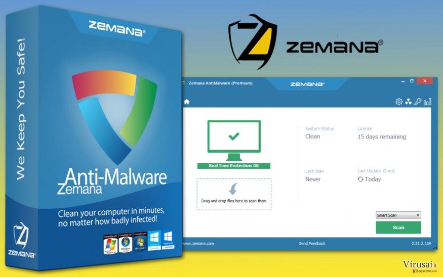Zemana AntiMalware programa