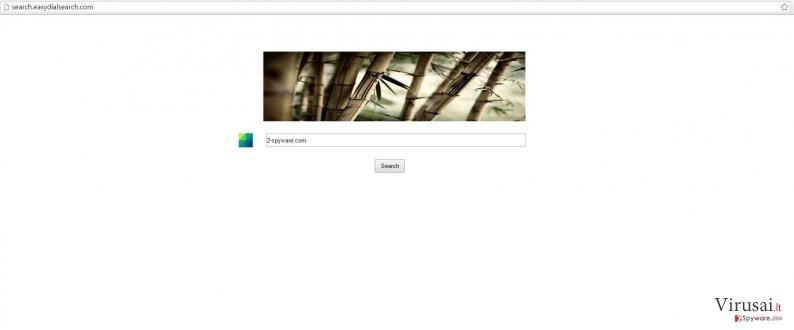 Search.easydialsearch.com viruso pavyzdys