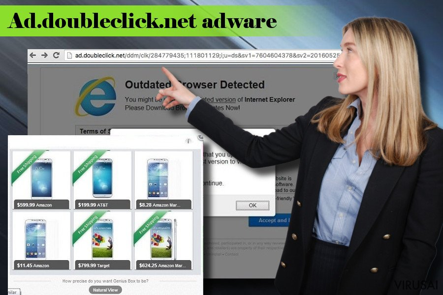 Illustrating Ad.doubleclick.net adware