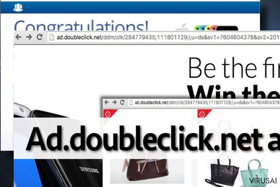 Showing Ad.doubleclick.net ads