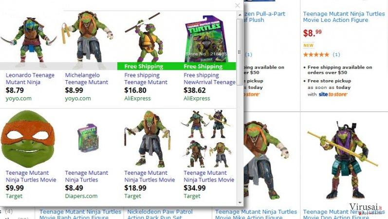 AllStarDeals reklamos ekrano nuotrauka
