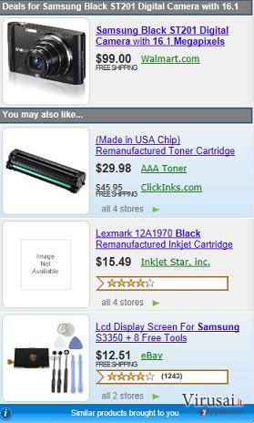 ClicUp reklamos ekrano nuotrauka