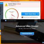 Advanced Mac Cleaner virusas ekrano nuotrauka