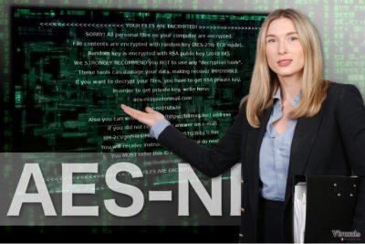 AES-NI viruso pavyzdys