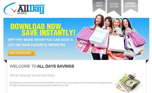 All Day Savings ekrano nuotrauka
