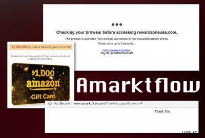Amarktflow virusas