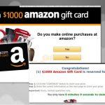 Amazon virusas ekrano nuotrauka