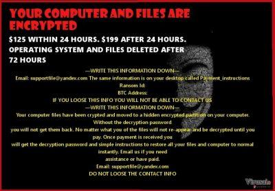 Anonymous ransomware virus