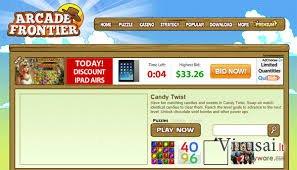 Arcade Frontier ekrano nuotrauka