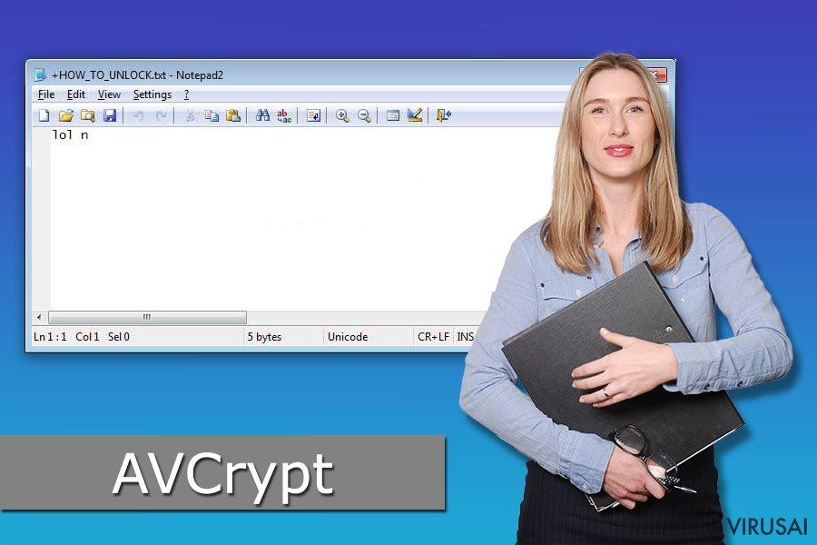 AVCrypt virusas