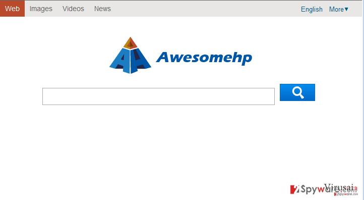 Awesomehp.com ekrano nuotrauka