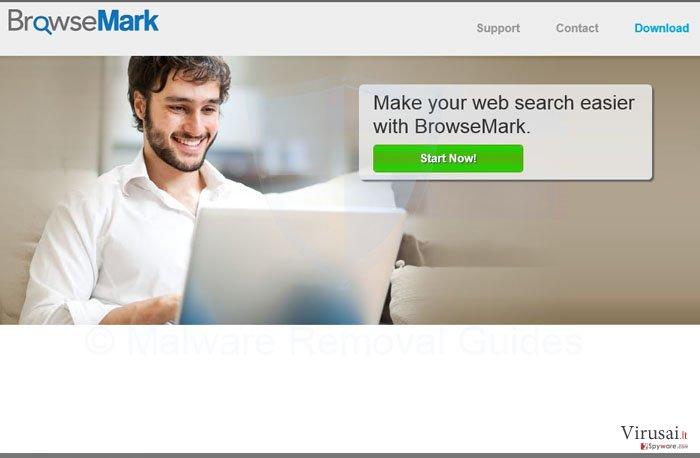 BrowseMark virusas ekrano nuotrauka