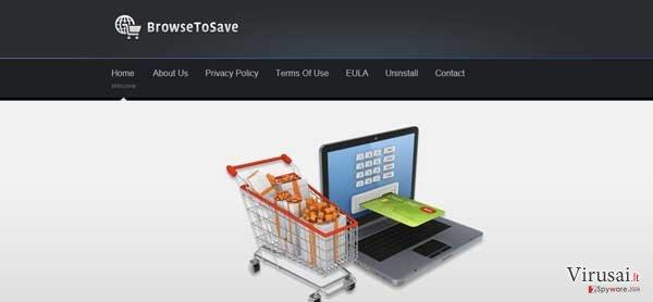 Browse2Save ekrano nuotrauka
