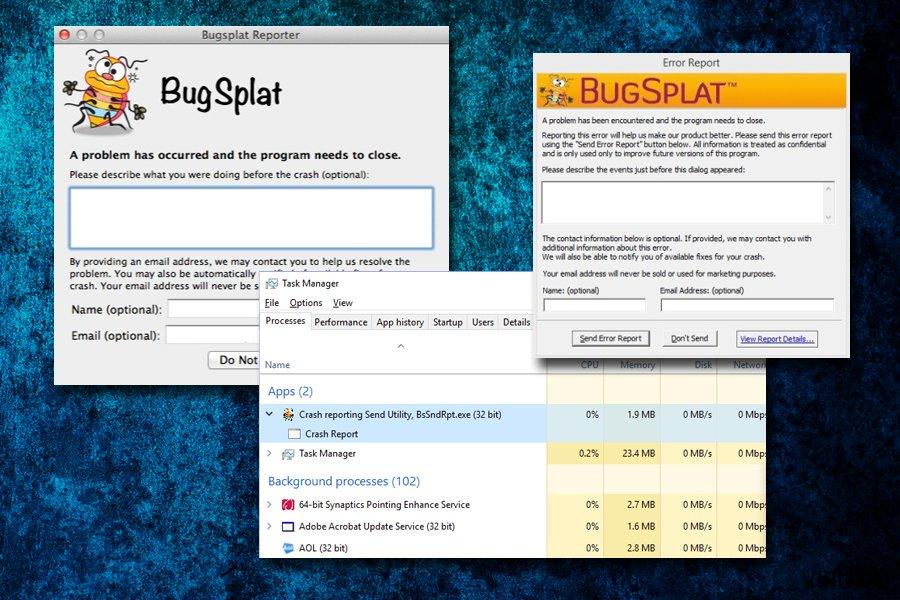BugSplat programa