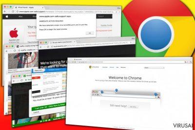 Chrome viruso pavvzdžiai