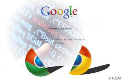 Chrome redirect virus