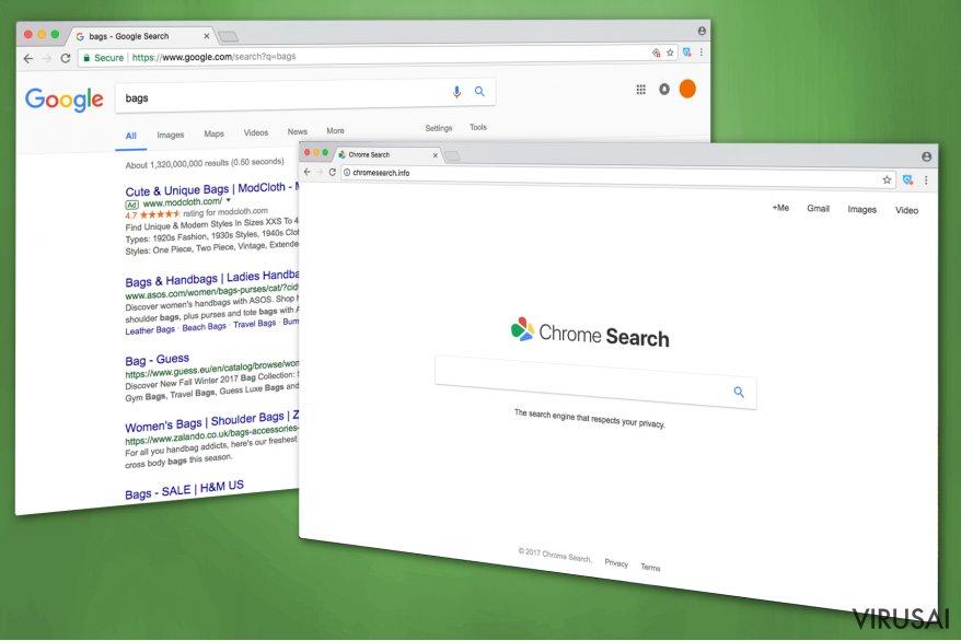 Chromesearch.info nuotrauka