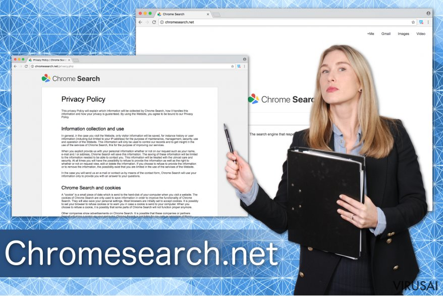 Chromesearch.net virusas