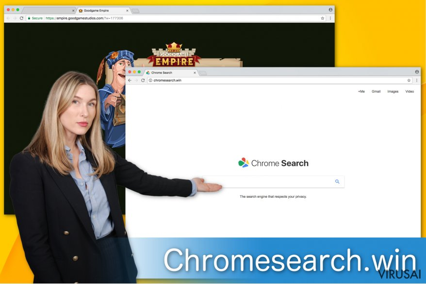 Chromesearch.win virusas