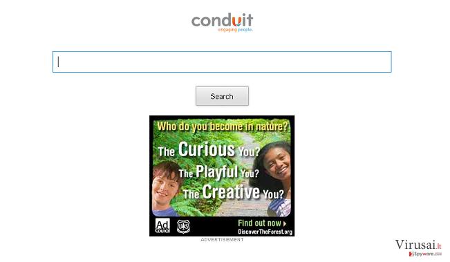 Storage.conduit.com peradresavimai ekrano nuotrauka