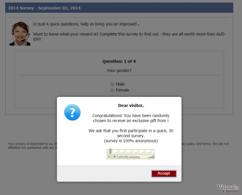 Consumer-responses.com virusas ekrano nuotrauka