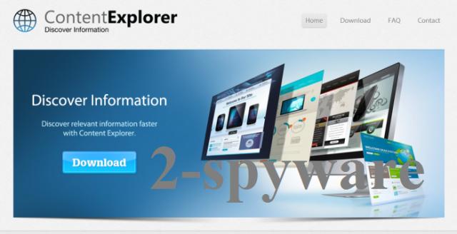 Content Explorer ekrano nuotrauka