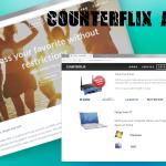 Counterflix reklamos ekrano nuotrauka