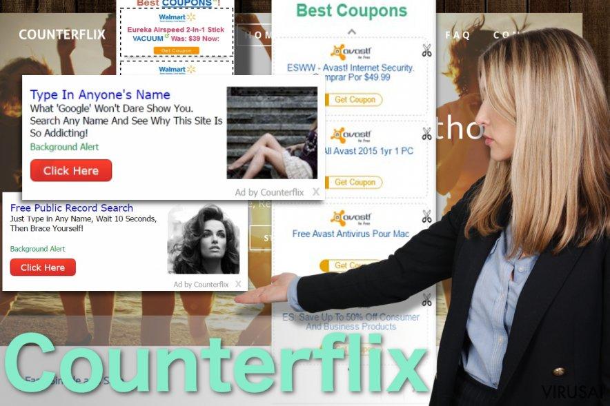 Counterflix reklamos