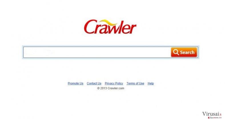 Crawler ekrano nuotrauka