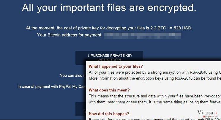 Crypted virusas