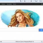 Default-search.net virusas ekrano nuotrauka