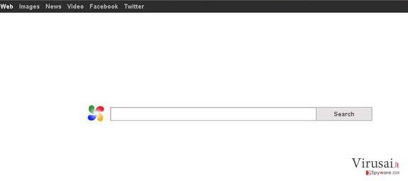 DefaultTab ekrano nuotrauka