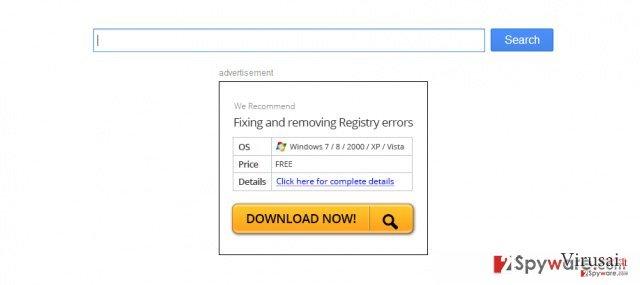 Firefox peradresavimo virusas ekrano nuotrauka