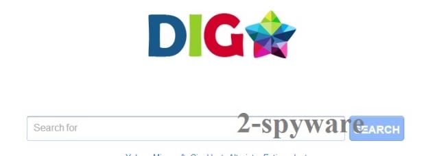 DigStar Search ekrano nuotrauka