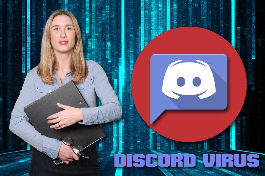 Kenkėjiškos programos Discord platformoje